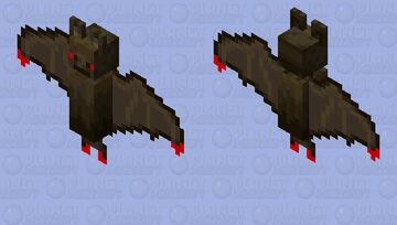 bat méchantes Minecraft Mob Skin