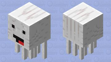 Skeppy Ghast Minecraft Mob Skin