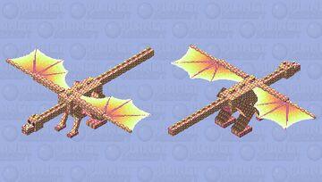 Lemon juice dragon Minecraft Mob Skin
