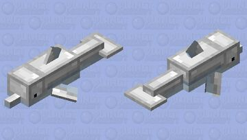 Armored Dolphin Minecraft Mob Skin