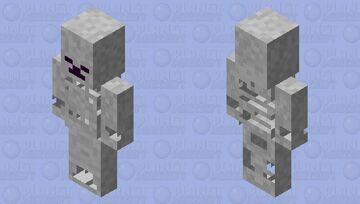 Magic Skeleton Minecraft Mob Skin