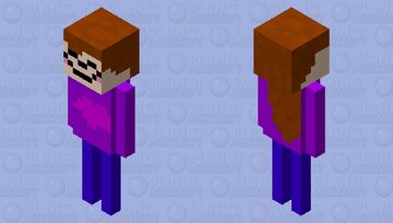 skellitin girl Minecraft Mob Skin