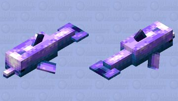 Ecco the Dolphin Minecraft Mob Skin