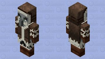 Pillager Mountaineer / Remade Re-texturing / ( no level for now ) Minecraft Mob Skin