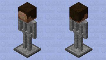 Training Dummy Stand Minecraft Mob Skin