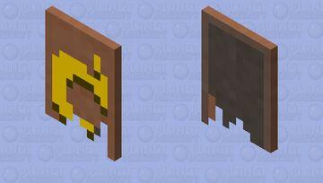 Ripped cape Minecraft Mob Skin