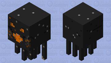 Ghast of fire Minecraft Mob Skin