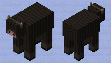 Yak Minecraft Mob Skin