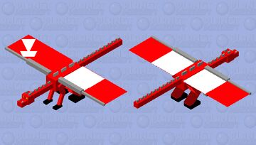 The red ender dragon Minecraft Mob Skin