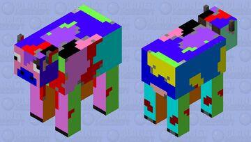 WORLD'S WIERDEST COW Minecraft Mob Skin