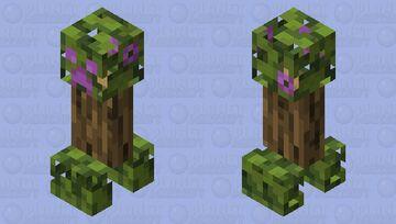 Azalea Creeper Minecraft Mob Skin