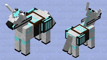 Robotic Horse/Mule Minecraft Mob Skin
