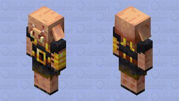 armored piglin (minecraft dungeons) Minecraft Mob Skin
