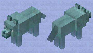 Spirit wolf Minecraft Mob Skin