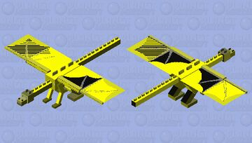 Sunny the sandwing Wings of fire Minecraft Mob Skin