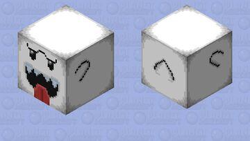 Super Mario Boo Minecraft Mob Skin