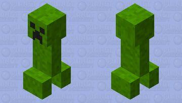 Custom Creeper Minecraft Mob Skin