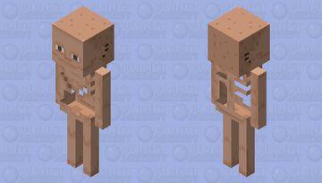Skeleton Friend Minecraft Mob Skin