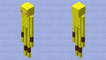 Alakazam Enderman Skin Minecraft Mob Skin
