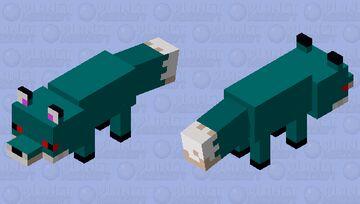 Blu Foox Minecraft Mob Skin