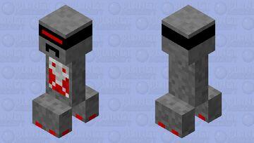Robotic Creeper Minecraft Mob Skin