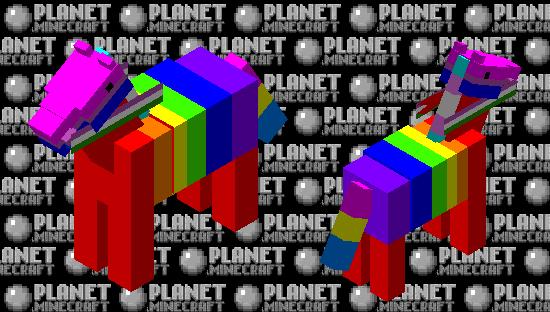 Pride Pony Minecraft Skin