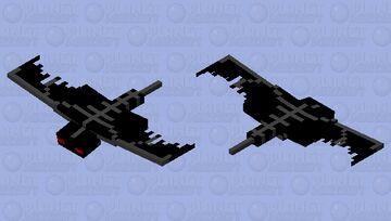 Dark Phantom Minecraft Mob Skin