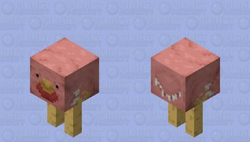 Bronce-Legged Poultry (Prehistoric Mobs Contest) Minecraft Mob Skin