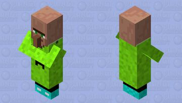 vilager with my mc skins close Minecraft Mob Skin
