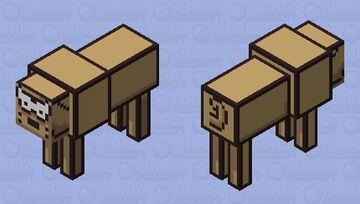 Earthbound - Runaway Dog Minecraft Mob Skin