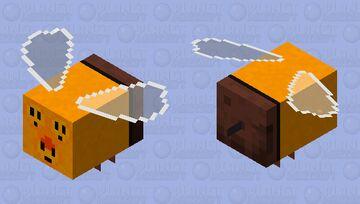 Combee Minecraft Bee skin Minecraft Mob Skin