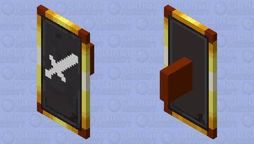 sword logo shield Minecraft Mob Skin