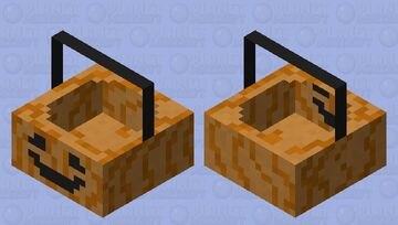 """"""" trick or treat! """" Candy Holder Minecraft Mob Skin"""