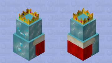 Ice King (First boss of the ice spikes biome) Minecraft Mob Skin