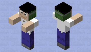 disguised zombie Minecraft Mob Skin
