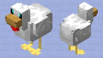 Cute HD Chicken Minecraft Mob Skin