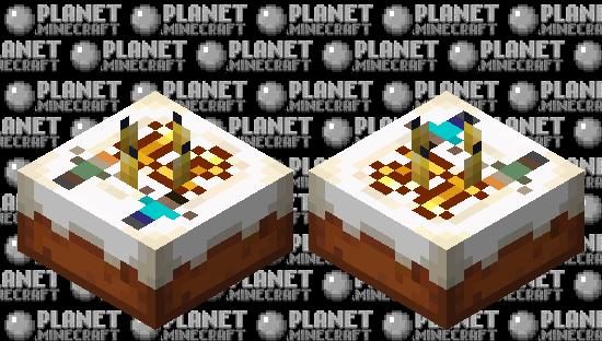 Minecraft 12th Birthday Cake Minecraft Skin
