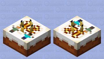 Minecraft 12th Birthday Cake Minecraft Mob Skin
