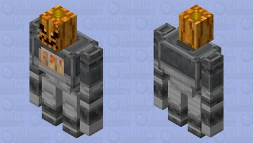 Golem Iron / of the group illager / re-texturing / Clean / without plants and a pumpkin Minecraft Mob Skin