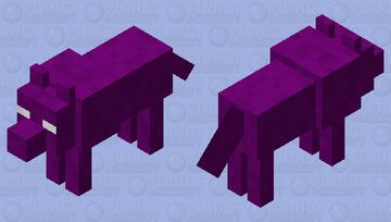 Vioroth's Purple Wolves Minecraft Mob Skin