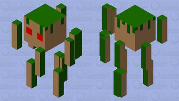Earth elemental Minecraft Mob Skin