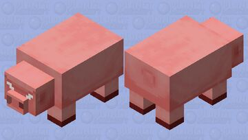 Big Pig (Agressive/nitwit's request) Minecraft Mob Skin