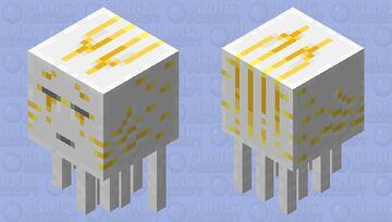 Ghast Gold Minecraft Mob Skin