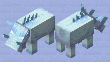 Ice-lin (contest) Minecraft Mob Skin