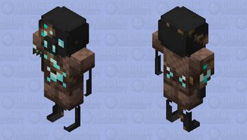 Better Zombified Piglin / from Soul Sand Valley / level 7 / Soul stone Minecraft Mob Skin