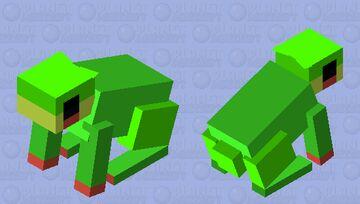Rabbit to Frog v2 Minecraft Mob Skin