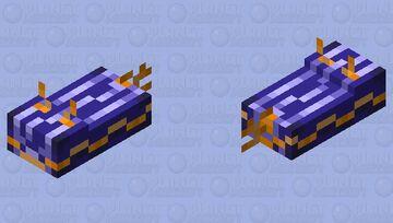 Tropical sea slug Minecraft Mob Skin