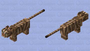Tabby Cat HD Minecraft Mob Skin