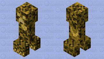 Secret Creeper 1: The Glowstone Creeper Minecraft Mob Skin