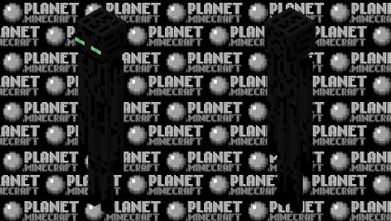 original enderman skin / skin original del enderman Minecraft Skin